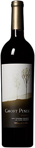 2014 Ghost Pines Napa County Sonoma County Merlot 750mL >>> More info could be found at the image url.
