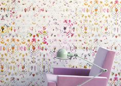 Né arts Interiores: ELITIS wallpaper, Kandy collection, love it!