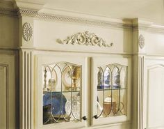 Bon Onlays Used On A China Display Cabinet. You Can Find Similar Medallions And  Carved Wooden