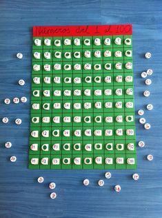 Del 1 al 100 y si a la base le añadimos un marco con las tablas nos serviría también para las tablas de multiplicar.