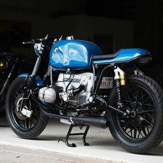 Nicely done BMW r100 by @niftyjon