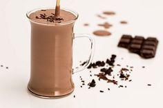 Horúce čokoládové smoothie s ovsenými vločkami