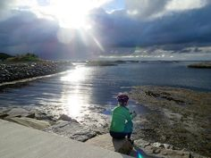 Bike touring along Atlantic Road in Norway with amazing views I @SatuVW I Destination Unknown