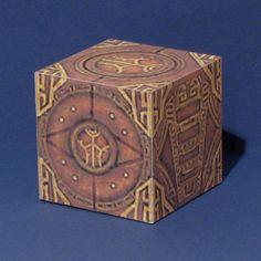 The Elder Scrolls V: Skyrim Papercraft - Dwemer Puzzle Cube