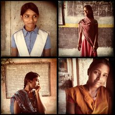 Stephanie Sinclair/VII/TooYoungToWed.org  iPhone portraits by Stephanie Sinclair of young girls in Rajasthan, India, who shared their stories about why they refused their child marriages. Launch Gallery