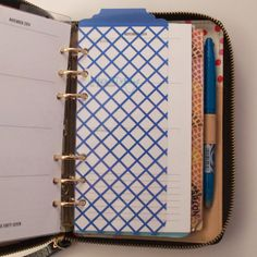 Personal Filofax / Kikki K Project Life by JustKeepPinning on Etsy