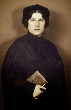 Regina Jonas, the first woman ordained as a rabbi - shown here before her murder in Auschwitz.