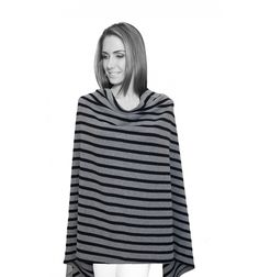 LIMITED EDITION Grey and Navy Stripe Navy Stripes, Turtle Neck, Grey, Sweaters, Fashion, Gray, Moda, Sweater, Pullover