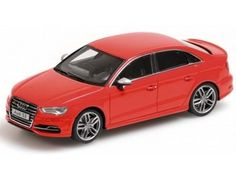 The Minichamps 1/43 Audi S3 Limousine 2013 in Red is a superbly detailed diecast car in the 1/43 scale Road Car Collection. Discounts on all Minichamps products at Wonderland Models.