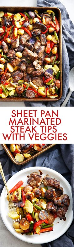 Sheet Pan Marinated