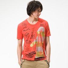 Tシャツ(箔プリントフォトTシャツ) /PPFM(PPFM)