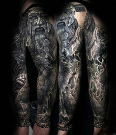 1634 Meilleures Images Du Tableau Tatouages Vikings Tattoo Sleeves