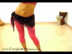 Videos Danza Arabe Nivel 2 Tecnica 1 Medio circulo de cadera