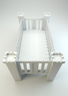 Baby Crib Castle for the children born within the Board between the king and queen