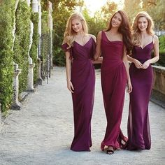 Delicious rich bridesmaids colors from @jimhjelmoccasions. Gorgeous mix and match combo in their Styles 5527, 5525 and 5505. #jimhjelmoccasions #bridalparty #jlmcouture #engagement #mixandmatch #weddingplanning #bridesmaids #maidofhonor #weddingparty #mai