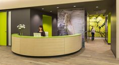 Children's Hospitals & Clinics of Minnesota, Pediatric Pain, Palliative and Integrative Medicine Clinic - Waiting rooms, treatment rooms, reception and consultation rooms for large family groups and a conference / break room with flexible furnishings round out the clinic. Atmosphere Commercial Interiors provided all furnishings, space planning, installation and project management logistics.