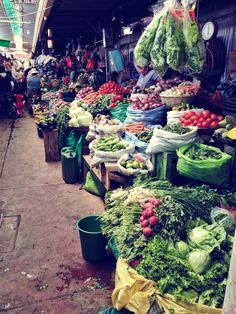 a day at the market in Cochabamba, Bolivia