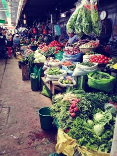 a day at the market in Cochabamba, Bolivia