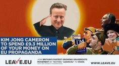 Brexiteers mock Kim Jong Cameron as 130000 say no to 9mn pro-EU leaflet http://ift.tt/1WhoKS6   Snarky Brexiteers have shared a campaign ad branding the embattled British PM Kim Jong Cameron in jest at his 9 million pro-EU propaganda. It comes as 130000 people sign a petition against his taxpayer-funded biased pro-EU flyers.Read Full Article at RT.com Source : Brexiteers mock Kim Jong Cameron as 130000 say no to 9mn pro-EU leaflet  The post Brexiteers mock Kim Jong Cameron as 130000 say no…