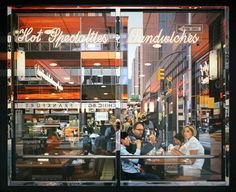 """Nathan Walsh creates amazing photorealistic paintings of cityscapes. """"I am fascinated by the city"""", says Nathan Walsh. Urban Painting, City Painting, Painting Art, Hyper Realistic Paintings, Landscape Photography Tips, New York, 10 Picture, Photorealism, Urban Landscape"""
