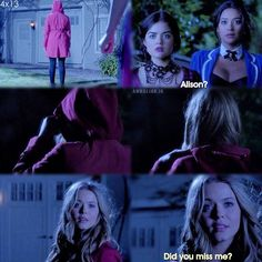 Pretty Little Liars...it shocked me but then again it didn't shock me...I knew ali was still alive I just didn't know they would show us this early!! hahaha