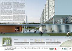 Galeria - Proposta finalista do concurso para a Moradia Estudantil da Unifesp Osasco / Albuquerque + Schatzmann arquitetos + Diego Tamanini + Felipe Finger - 21