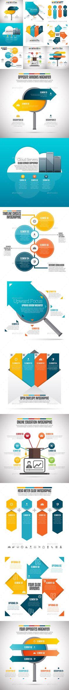 Infographic Set Template PSD, Vector EPS, AI #design Download: http://graphicriver.net/item/infographic-set-29/12999701?ref=ksioks