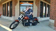 Congrats Taylor & Alyc on getting a 2011 Dyna Wide glide that you purchased from me at Harley Davidson of Kokomo.
