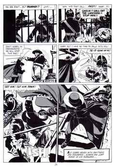 aapstra (Zorro by Alex Toth. Alex Toth hated the original...)