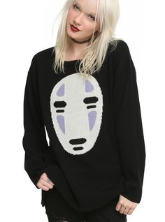 Spirited Away No Face Sweater ($45-$47)