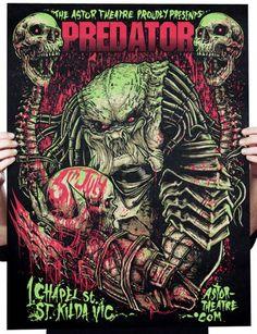 """Predator"" print by Godmachine"