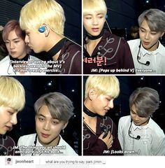 MY GOD JIMIN. And this is another reason i love Jimin, he thinks just like me