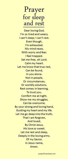 This prayer for sleep and rest can help calm your heart. Many people suffer from…