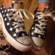 Polka Dot Converse-I WANT!!!!!