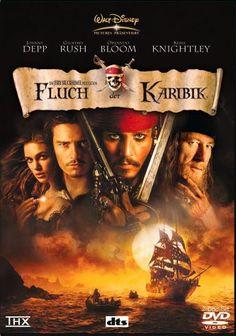 Fluch der Karibik * IMDb Rating: 8,0 (453.590) * 2003 USA * Darsteller: Johnny Depp, Geoffrey Rush, Orlando Bloom,