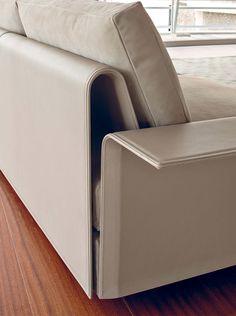 Fendi Casa Contemporary - Hampton sofa detail www.luxurylivinggroup.com #Fendi #LuxuryLivingGroup
