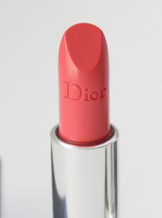 Dior Rouge Dior Lipcolour in #448 Tulip Pink(coral pink)