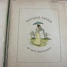 1885 Marigold Garden by Kate Greenaway 1st Edition | eBay