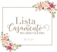 Uma das preocupações no nosso casamento foi a Lista de Presentes. Como tínhamos familiares que moravam distante de nós, amigos que não sabiam do que precisávamos, ou como poderiam nos agradar com algo que verdadeiramente gostássemos, pensamos em fazer a nossa lista. Hoje queremos apresentar a Lista de Presentes da Ricardo Eletro, os benefícios e ... Floral Frames, Invitation Cards, Wedding Invitations, School Murals, Wreath Drawing, Bussiness Card, Floral Logo, Wedding Background, Bride Bouquets