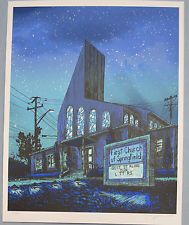 Tim Doyle SAVE ME JEBUS The Simpsons Unreal Estate GID VARIANT Poster PRINT /50