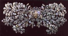 The Romanov nuptial wedding brooch, worn by all Russian imperial women on their wedding day.