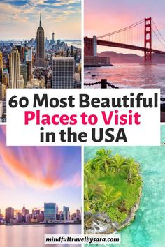 Looking for the Best Places to Visit in the US? Here is my list of the best destinations to visit in the United States for the best vacation in the USA! Vacations In The Us, Best Vacations, Family Vacations, Family Travel, Las Vegas Hotels, Sedona Arizona, Usa Travel Guide, Travel Usa, Travel Tips