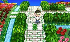 animal crossing new leaf town decoration ideas - Google Search