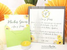 Invitación Sunflowers