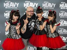 Patryk Pigeon With Babymetal at HEAVY MONTRÉAL!