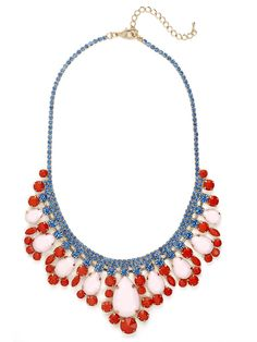 pretty jeweled collar necklace from Bauble Bar
