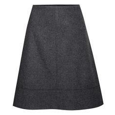 Rock Melinda in Anthrazit von Berwin und Wolff I 55 cm Mini Skirts, Hair Styles, Tasty, Nails, Recipes, Fashion, Bodice, Dirndl, Women's