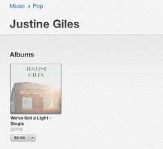 Find me on Worldwide iTunes!!! My first single is out :)