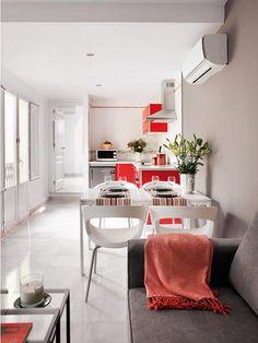 Inspiring Small White Apartment Interior Design - Modern Homes Interior Design and Decorating Ideas on Decodir