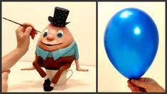 ❣DIY Humpty Dumpty Using a Balloon❣ - YouTube